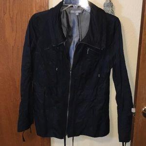 Final price onBlack lightweight utility jacket
